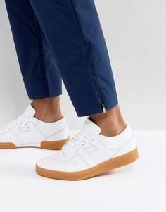 Белые кроссовки на резиновой подошве Reebok Club Workout BS6205 - Белый