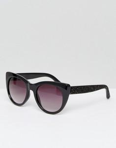 Солнцезащитные очки кошачий глаз ALDO Choewen - Черный