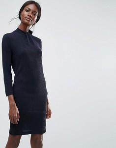 Облегающее платье Y.A.S - Синий