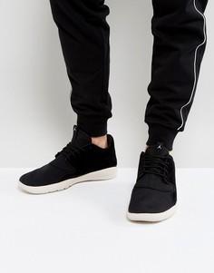 Черные кожаные кроссовки Nike Jordan Eclipse 724368-013 - Черный