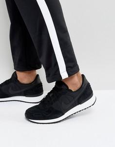 Черные кожаные кроссовки Nike Air Vortex 918206-001 - Черный
