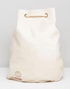 Белый рюкзак Mi Pac - Кремовый