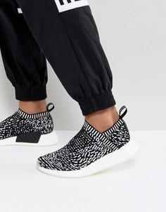 Черные трикотажные кроссовки adidas Originals NMD CS2 BY3012 - Черный
