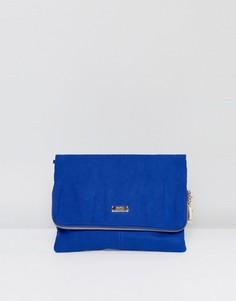Синий клатч с откидным верхом Faith - Синий
