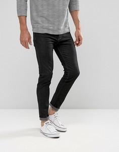 Черные эластичные джинсы скинни United Colors of Benetton - Черный