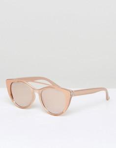 Розово-золотистые солнцезащитные очки ALDO Silberberg - Золотой