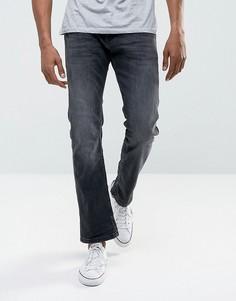Черные прямые джинсы из органического денима Esprit - Черный