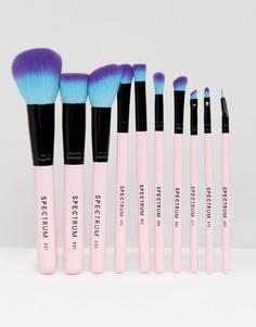 Набор из 10 кистей для макияжа Spectrum - Бесцветный