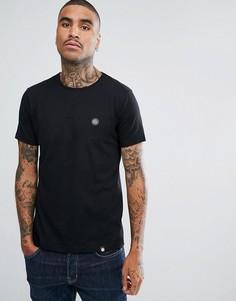 Черная трикотажная футболка с короткими рукавами Pretty Green - Черный