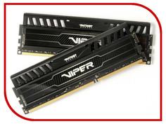 Модуль памяти PATRIOT DDR3 1600MHz PC-12800 CL14 - 8Gb KIT (2x4Gb) PV38G160C9K Патриот