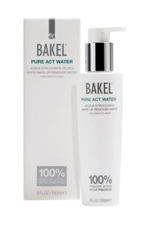 Жидкость для снятия макияжа с лица и глаз для нормальной и смешанной кожи PURE ACT WATER, 150 ml Bakel