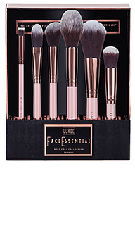Набор кистей для макияжа rose gold face - Luxie
