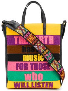 patchwork slogan bag  Etro