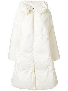 объемное пальто-пуховик Mm6 Maison Margiela