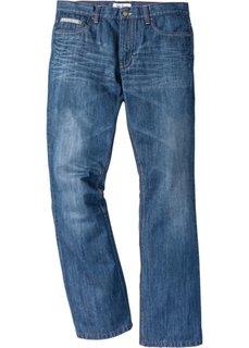 Расклешенные джинсы Regular Fit с контрастными швами, cредний рост (N) (синий) Bonprix