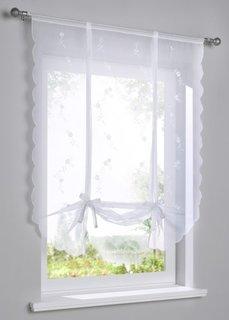 Римская штора Шарлотта (белый) Bonprix