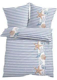 Постельное белье Маритим, фланель (синий) Bonprix