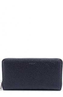 Кожаный бумажник на молнии с отделением для монет Bally