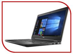 Ноутбук Dell Latitude 5580 5580-9217 (Intel Core i5-7440HQ 2.8GHz/8192Mb/256Gb SSD/Intel HD Graphics/Wi-Fi/Bluetooth/Cam/15.6/1920x1080/Linux)