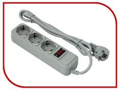Сетевой фильтр ExeGate SP-3-1.8G 3 Sockets 1.8m Grey 221176