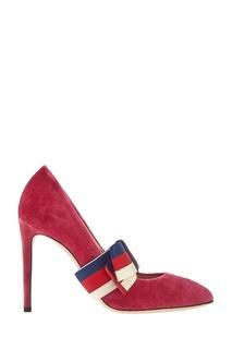Бархатные туфли Gucci