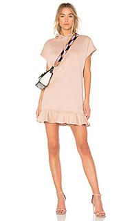 Платье с оборками hoodie - Carven