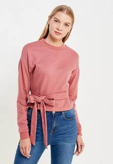 Свитшот LOST INK BELTED CROP SWEAT