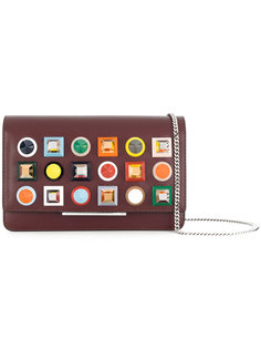 кошелек с заклепками на цепочке Fendi