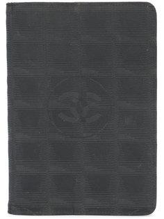 Chanel Black Nylon Travel Ligne Agenda Cover Chanel Vintage