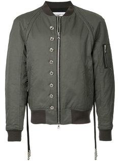 куртка бомбер с заклепками Gomorrah