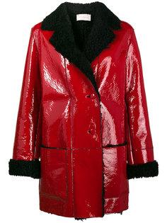 пальто с подкладкой  Christopher Kane