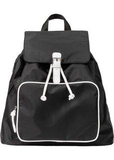 Рюкзак (черный/белый) Bonprix