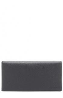 Кожаный бумажник с отделениями для кредитных карт и монет Ermenegildo Zegna