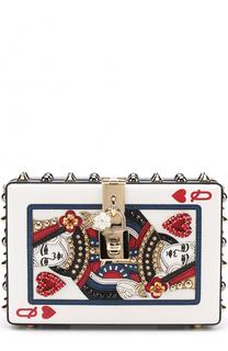 Сумка Dolce Box с декором Dolce & Gabbana