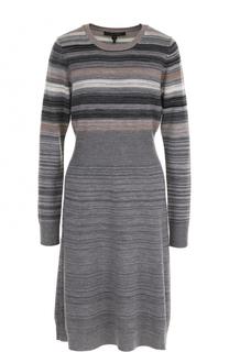 Шерстяное приталенное платье Marc Jacobs