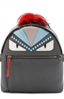 Рюкзак Bag Bugs с отделкой из меха Fendi