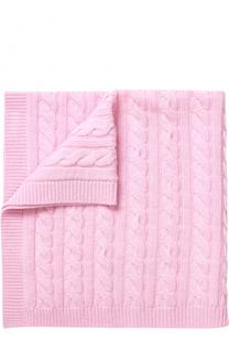 Кашемировое одеяло фактурной вязки La Perla