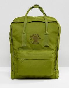 Зеленый рюкзак Fjallraven Re-Kanken, 16 л - Зеленый