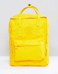 Желтый рюкзак Fjallraven Re-Kanken - 16 л - Желтый