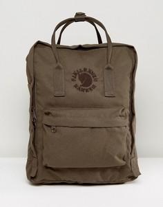 Оливковый рюкзак Fjallraven Re-Kanken - 16 л - Желтый