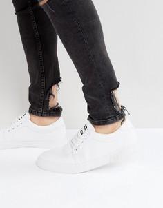Парусиновые кроссовки T.U.K - Белый