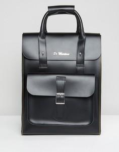 Черный кожаный рюкзак Dr Martens - Черный
