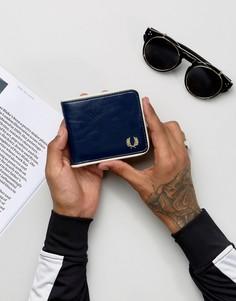 Темно-синий бумажник Fred Perry Classic - Темно-синий