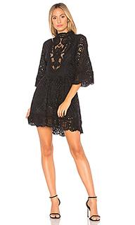 Мини платье victorian embroidered - Nightcap