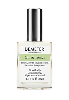 "Туалетная вода Demeter Fragrance Library Джин-тоник (""Gin & tonic"") 30 мл"