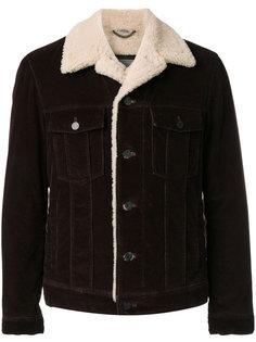 вельветовая куртка из овчины Lanvin