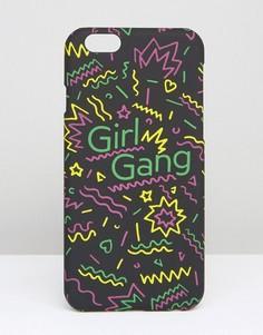 Чехол для iPhone 6 и 6s ASOS Girl Gang - Мульти