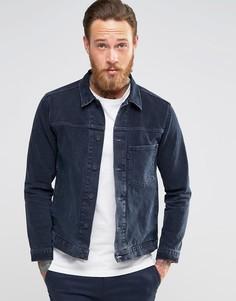 Чернильно-синяя джинсовая куртка Levis Line 8 - Темно-синий