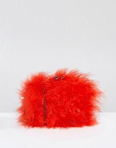 Сумка из искусственного меха Chi Chi London - Красный