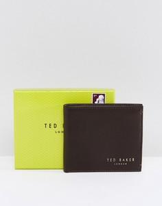 Кожаный бумажник Ted Baker Antony - Коричневый